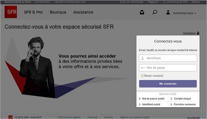 SFR Mobile, étape 1